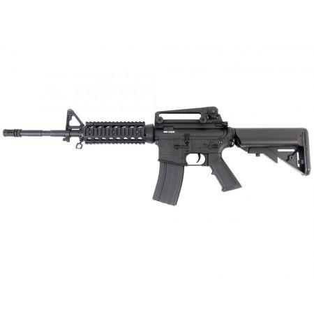 Fusil Colt M4 A1 (M4A1) Long RIS AEG Electrique - Noir Nylon Fibre - 180838