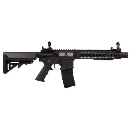 Fusil Colt M4 Keymod Silencer AEG Full Metal Noir - 180869