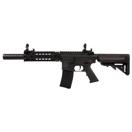 Fusil Colt M4 Silent OPS AEG Polymère Noir - 180863