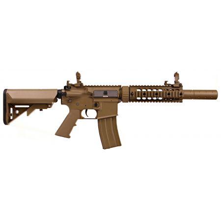 Fusil Colt M4 Silent OPS AEG Polymère Tan - 180864