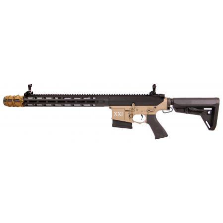 Fusil DMR Legion Rapax XXI M1 AEG Secutor - Noir & Tan