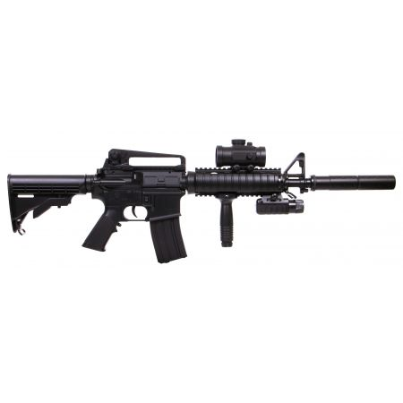 Fusil DS4 Carbine Pack Complet (Lampe + Red Dot + Poignée Verticale + Lunette) 15256