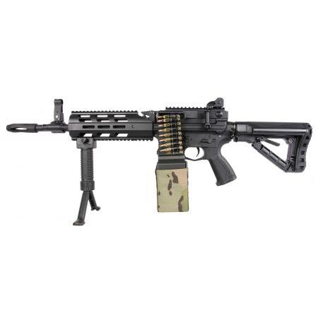 Fusil G&G CM16 LMG AEG Guay Guay - Noir