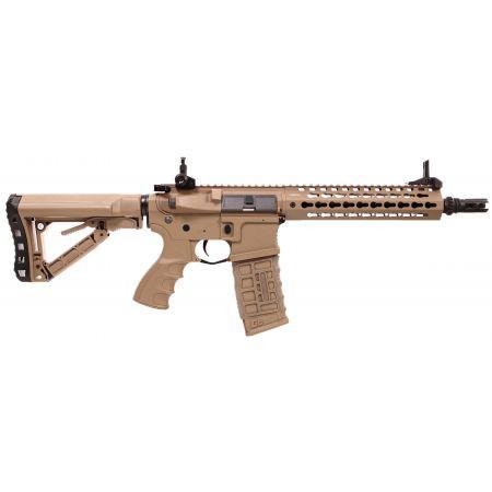 Fusil G&G CM16 SRL AEG Keymod 9 Pouces - Tan