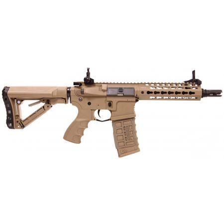 Fusil G&G CM16 SRS AEG Keymod 7 Pouces - Tan
