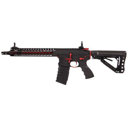 Fusil G&G CM16 SRXL AEG Keymod 12 Pouces - Red Edition
