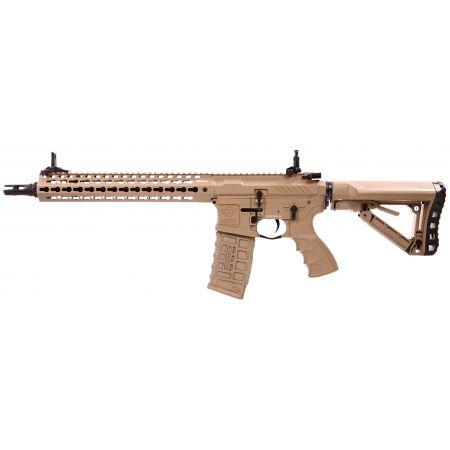 Fusil G&G CM16 SRXL AEG Keymod 12 Pouces - Tan