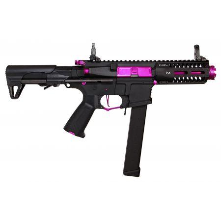 Fusil G&G CM16 UMP ARP9 CQB AEG (Mosfet & ETU) PDW - Black Orchid