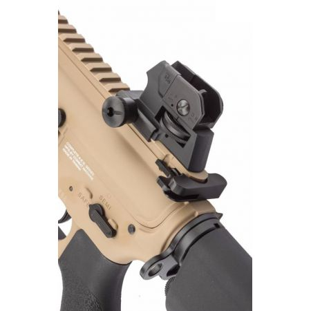 Fusil G&G M4 CM16 CM 16 Raider DST AEG CQB Court Tan et Noir Guay Guay