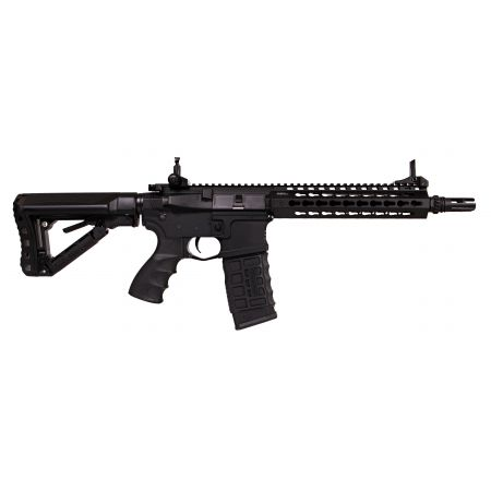 Fusil G&G M4 CM16 SRL Keymod AEG (Mosfet & ETU) Guay Guay - Noir