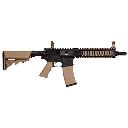 Fusil G&G M4 CM18 CM 18 MOD1 AEG CQB Bi-ton Noir & Tan Guay Guay