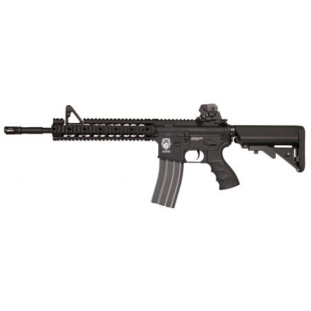Fusil G&G M4 GR15 GR 15 Raider XL AEG Blowback Métal & Nylon - Noir