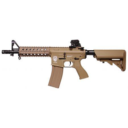 Fusil G&G M4 GR15 Raider CQB AEG Blowback - Guay & Guay - Dark Earth