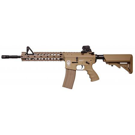 Fusil G&G M4 GR15 Raider XL AEG Blowback - Guay & Guay - Dark Earth