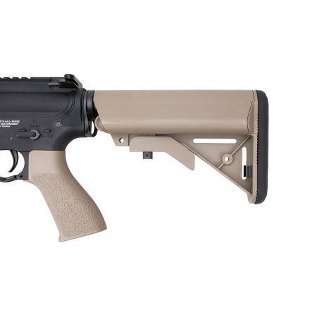 Fusil G&G M4 GR4 CQB-S Mini AEG Blowback Metal & Nylon - Noir & Tan