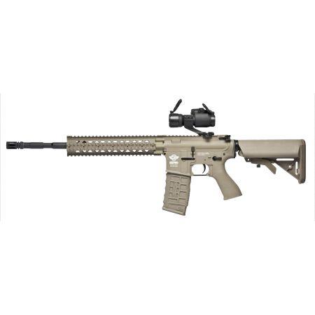 Fusil G&G M4 M16 CM16 R8-L Long AEG (Electrique) Guay Guay - Tan