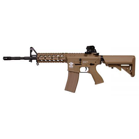 Fusil G&G M4 RIS Carabine CM16 Raider-L AEG Long Guay Guay - Tan