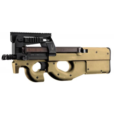 Fusil GIGN FN P90 TR Tactical AEG BO Dynamics King Arms Tan - BO8969