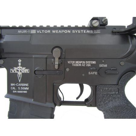 Fusil KA VLTOR M4 MUR CQB AEG King Arms Elite - Noir KA-AG-121-BK
