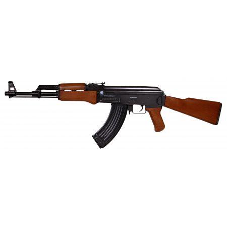 Fusil Kalashnikov AK47 Spring Cross Imitation Bois 120703