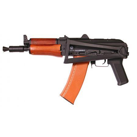 Fusil Kalashnikov AKS74U AKS-74U AKSU AEG Métal Bois Cyma CM045A 120912