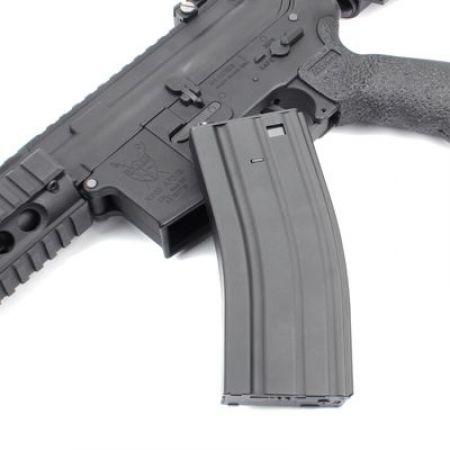 Fusil King Arms Armalite M4 M15 AEG CQB Tanker Rifle Ultra Grade - Noir - KA-AG-152
