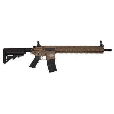 Fusil M4 CA M15 MK-15 DMR Full Metal Dark Earth Classic Army AEG CA098M-DE