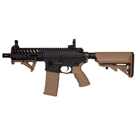 Fusil M4 CQB BO Dynamic Shield LT595 AEG Blowback Lonex Tan - AR13500