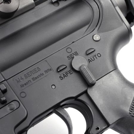 Fusil M4 RIS CQB-R AEG (Electrique) King Arms Ultra Grade - Noir - KA-AG-150