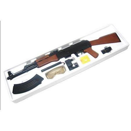Fusil Mitrailleur Cyma CM022 Type AK47 AEG Electrique - Pack Complet