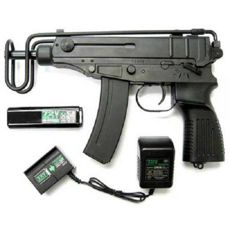 Fusil Mitrailleur CZ Scorpion VZ61 AEG Electrique Metal et ABS - 16529