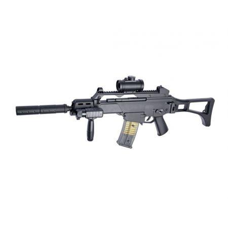 Fusil Mitrailleur DLV 36 Electrique AEG Pack Complet