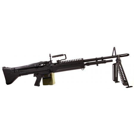 Fusil Mitrailleur LMG Type M60 Vietnam AEG Full Metal A&K - Noir