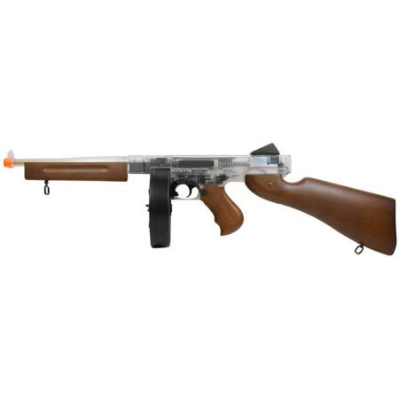 Fusil Mitrailleur Thompson AEG M1A1 Military Smoky Drum Version 430905