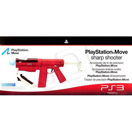 Fusil Playstation Move Sharp Shooter Ps3