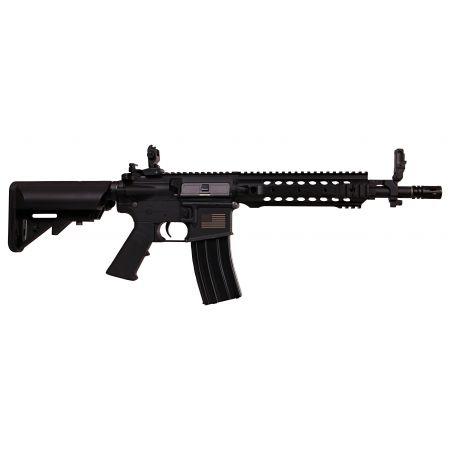 Fusil S&T M4 URX G2 AEG Metal 8 Pouces - Noir