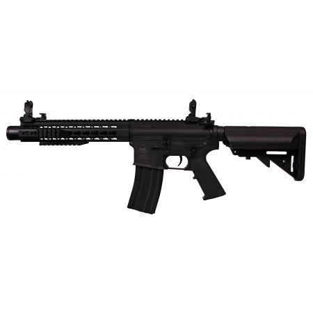 Fusil S&T M4KM M4 Keymod Metal 10 Pouces AEG - Noir