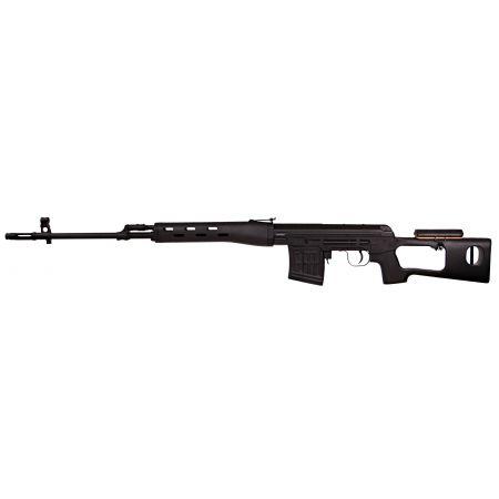 Fusil Sniper A&K Dragunov SVD Spring Bolt Full Metal - Noir