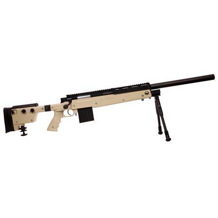 Fusil Sniper L96 SAS06 (SAS 06) Spring Bolt Swiss Arms Tan - 280737