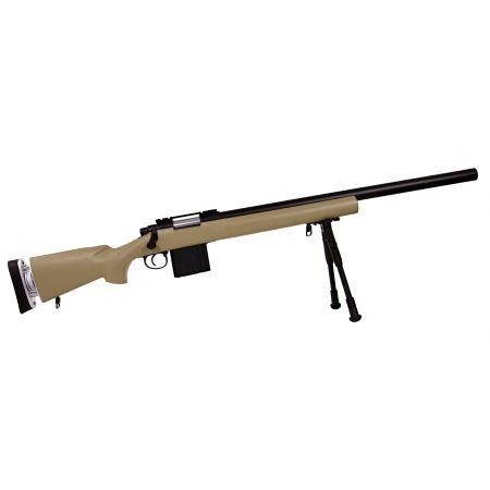 Fusil Sniper M24 SAS04 (SAS 04) Spring Bolt Swiss Arms Tan - 280733