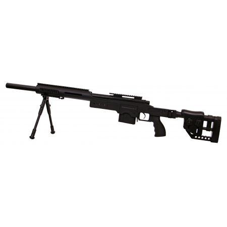 Fusil Sniper MSR SAS10 (SAS 10) Spring Bolt Swiss Arms Noir - 280734