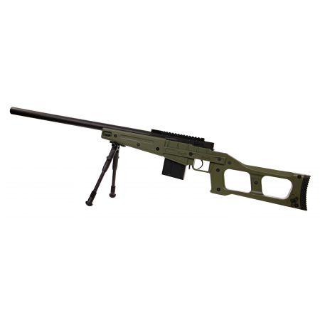 Fusil Sniper VSS SAS08 (SAS 08) Spring Bolt Swiss Arms Olive - 280740