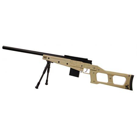 Fusil Sniper VSS SAS08 (SAS 08) Spring Bolt Swiss Arms Tan - 280739