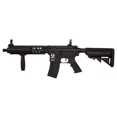 Fusil Spartan A&K Delta SX18 MOD 1 M4 CQB AEG Full Metal Noir - 680908