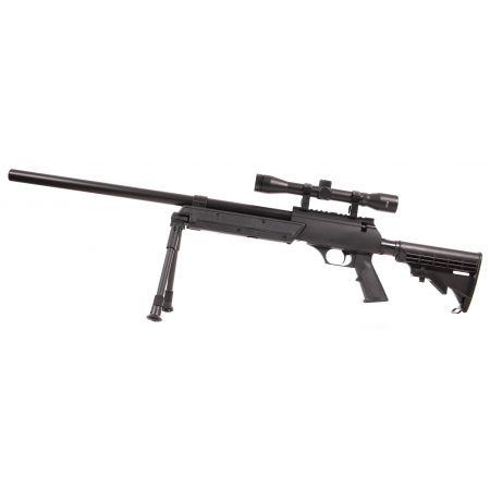Fusil Urban Sniper Metal Spring Hop Up Pack Complet 16769