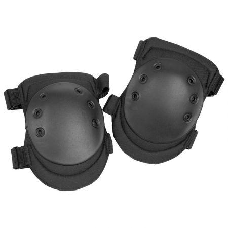 Genouilleres Protege Genoux SWAT - Coque Rigide - Airsoft - Noir - Miltec 16231002