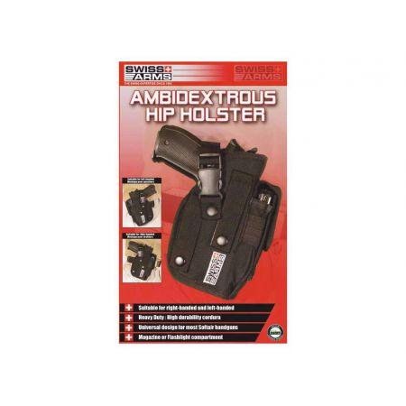 Holster De Ceinture Ambidextre Pour Droiter et Gaucher Swiss Arms 603616