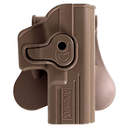 Holster Droitier Rigide CQC Répliques Glock & Gladius Amomax - Tan