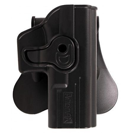 Holster Droitier Rigide CQC Répliques Type Glock & Gladius Amomax - Noir