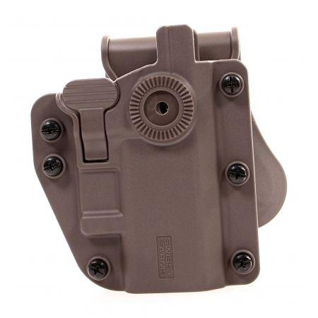 Holster Rigide CQC ADAPT-X Universel Ambidextre Swiss Arms Tan - 603674